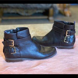 Tommy Hilfiger Vegan Dark Brown Julie Ankle Boots